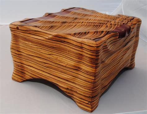 woodworking projects zebra wood box by longgone lumberjocks