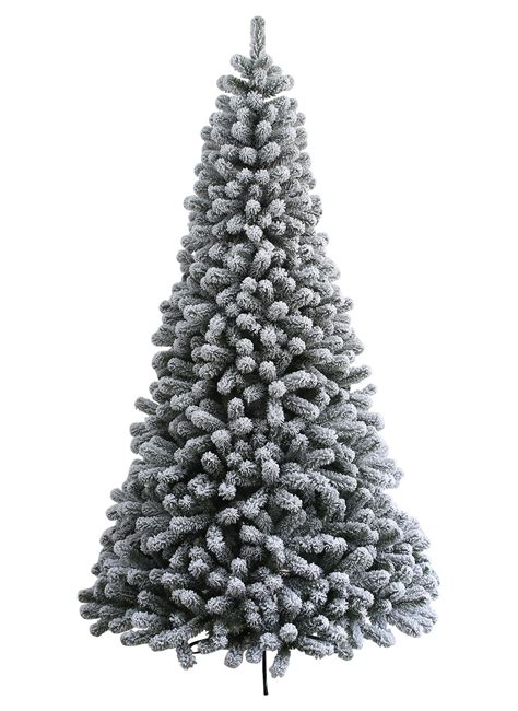 flock tree 9 foot prince flock artificial tree with 600