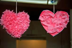 valentines craft for preschool crafts for s day tissue