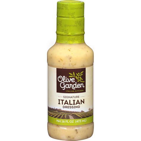 marzetti olive garden salad dressing signature italian 16 oz