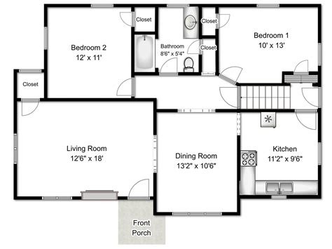 floor plans with measurements floor plans with dimensions