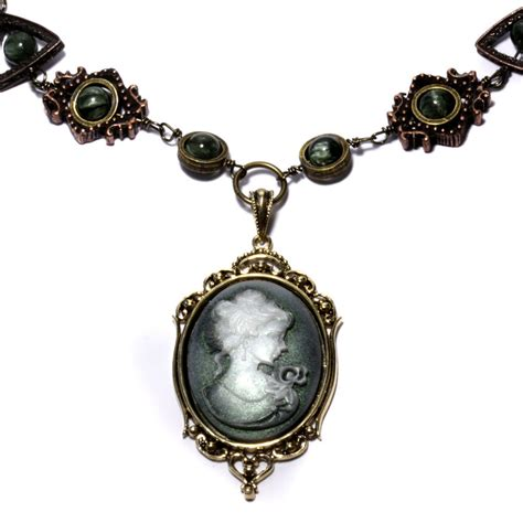 cameo pendants for jewelry steunk cameo necklace 3 by catherinetterings on deviantart