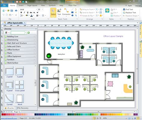 floor plans software free office floor plan software