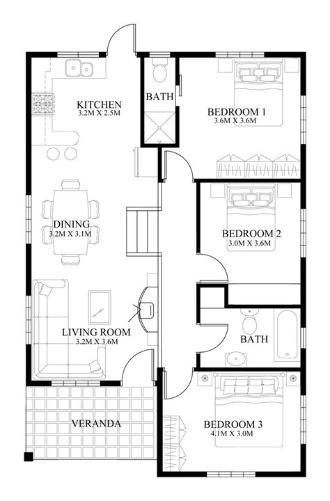 small farmhouse floor plans small house design 2014005 eplans