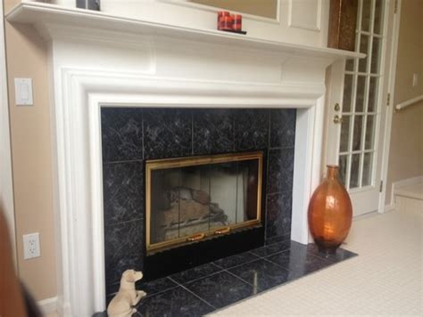 How To Paint An Old Brick Fireplace by Ideas To Update Fireplace Surround