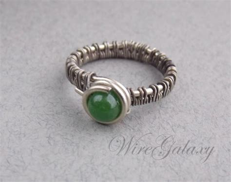 jewelry wire wrapping techniques style jewelry ring made of nickel silver with