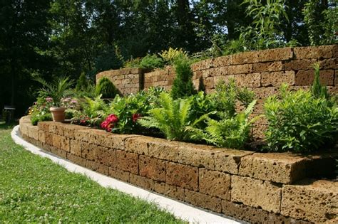 retaining walls for gardens 27 backyard retaining wall ideas and terraced gardens