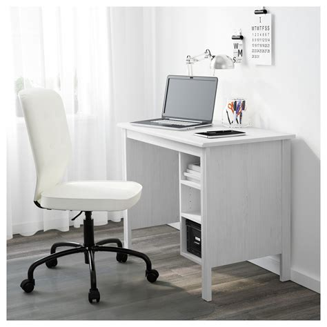 ikea glass corner desk brusali desk white 90x52 cm ikea