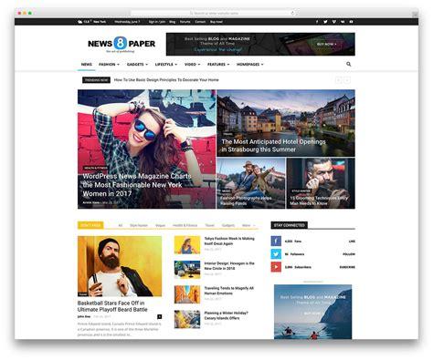 best website 20 best adsense optimized themes 2017