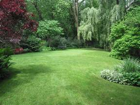 garden ideas for backyard our yard has an amazing open grass space surrounded by the