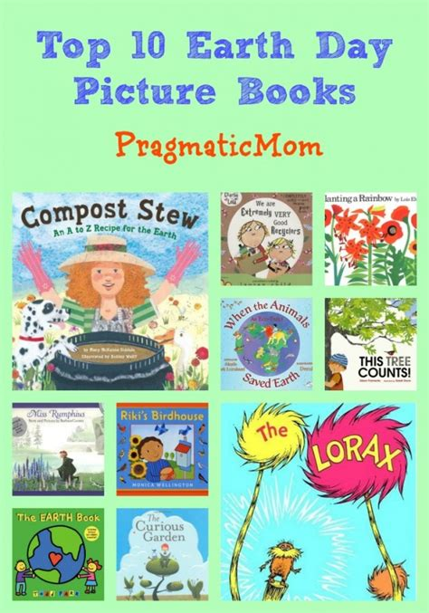 Top 10 Earth Day Picture Books Pragmaticmom