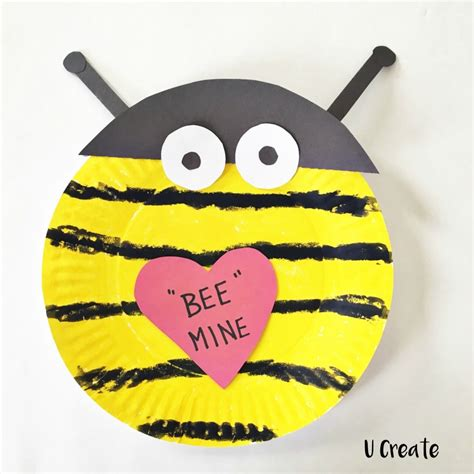 paper plate bumble bee craft paper plate crafts u create