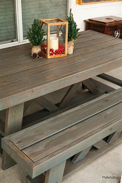diy patio table plans diy patio table shanty 2 chic outdoor table plans pallet