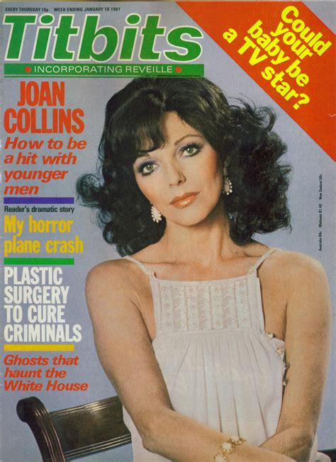 magazine archive legendary dame on the cover titbits january 1981