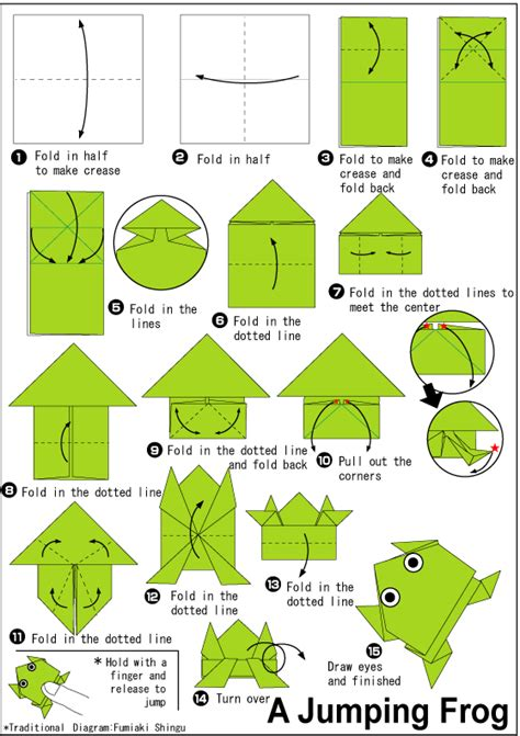 origami jumping frog jumping frog easy origami for