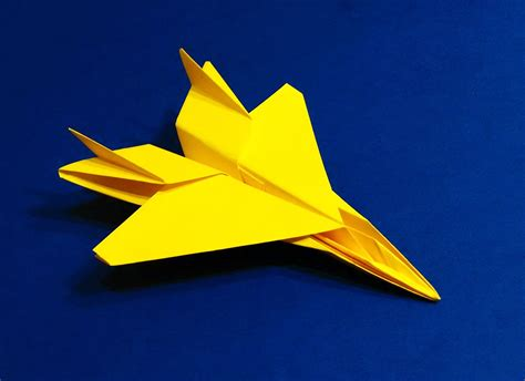 Origami F 15 Jet Easy Tutorial Paper Plane F15 Flying