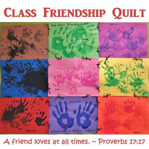 friendship crafts for princesses pies preschool pizzazz class friendship quilt