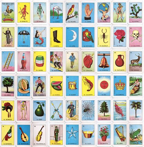 El Corazon Loteria Card Them Hypnotized And My Family