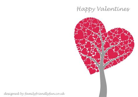 valentines card s card templates s day cards for