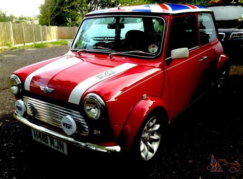no reserve mint classic mini cooper 1275 red white roof show car new engine 850m