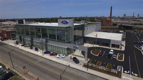 Fox Ford Chicago by One Of The Largest Ford Dealerships In The Country Opens
