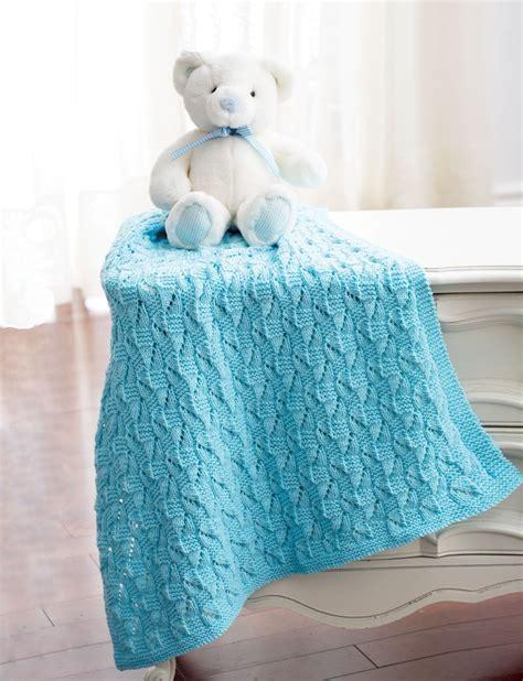 bernat baby knitting patterns staggered squares blanket in bernat baby sport knitting