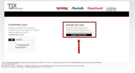 tj maxx credit card make a payment tj maxx credit card login make a payment creditspot