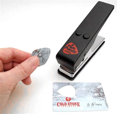 make guitar picks from credit cards the unique guitar guitar punch