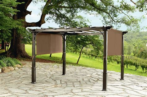 Garden Oasis Arbor With Lights Image Gallery Sears Pergola