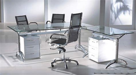 glass office desk modern glass furniture glass furniture designs glass