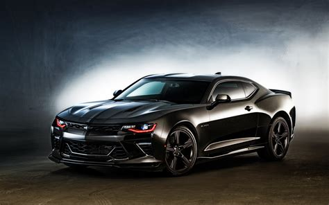 Wallpaper Car Chevrolet by 2016 Chevrolet Camaro Black Wallpaper Hd Car Wallpapers