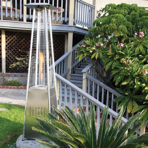 garden radiance patio heater garden radiance stainless steel pyramid outdoor patio