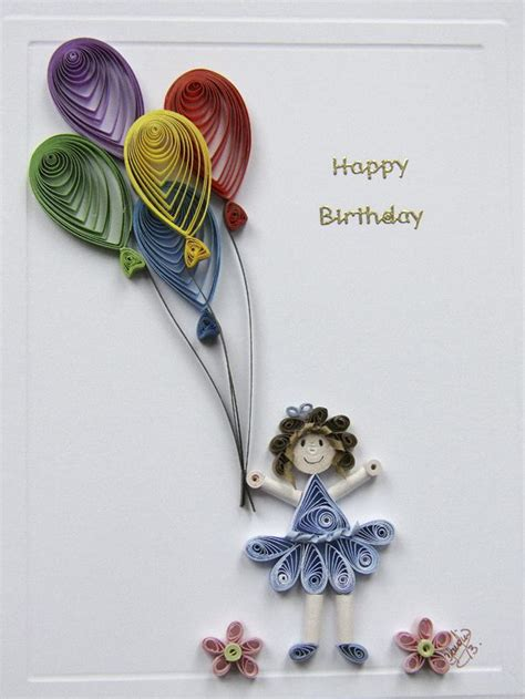 card with quilling 17 best ideas about quilling birthday cards on