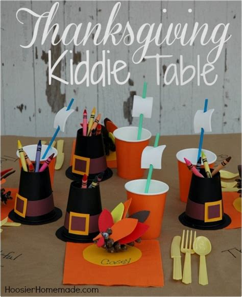 thanksgiving table crafts for 15 crafts and decor ideas for the thanksgiving kiddie