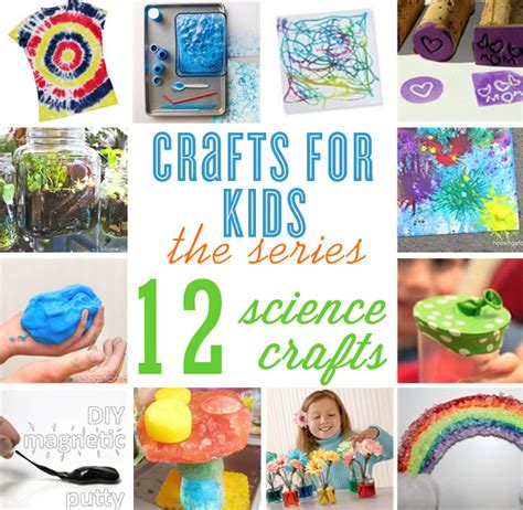 science craft for crafts for 12 science craft ideas the celebration