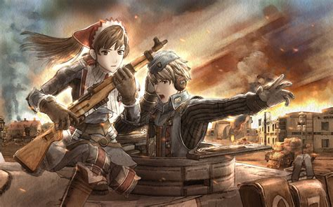 valkyria chronicles anime war