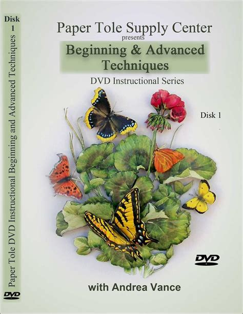 decoupage supplies australia learn beginning and advanced paper tole techniques dvd 1