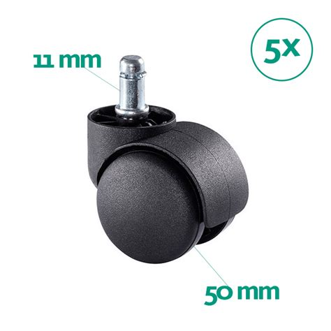 ruedas sillas giratorias juego de ruedas para silla de oficina giratoria 11 50 mm lsc