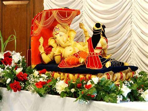 home decoration for ganesh festival ganesh chaturthi decorations ganesha chaturthi pandal