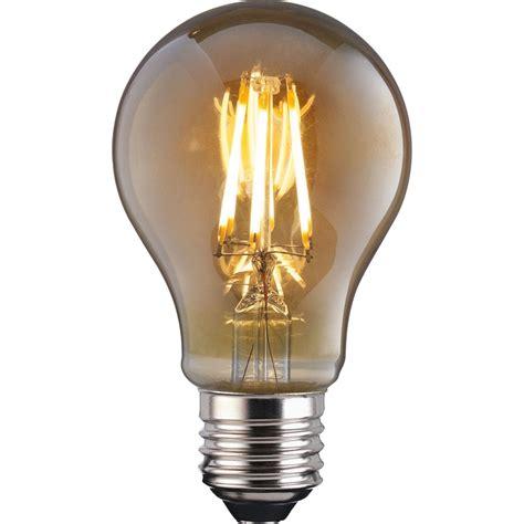 led filament classic 6w e27 vintage light bulb at homebase co uk