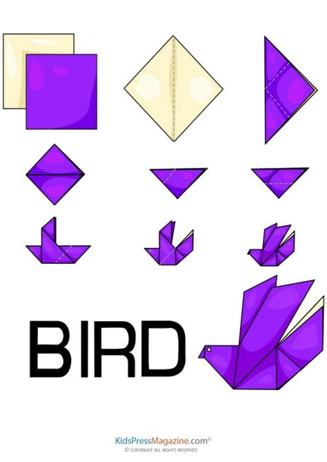 how to make a bird with origami 25 best ideas about origami birds on diy