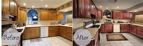 refacing kitchen cabinets before and after kitchen cabinets refacing before and after and the cost
