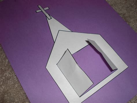 crafts for church look to him and be radiant we are the church craft