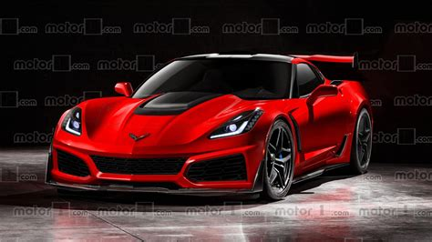 New Corvette Zr1 by 2018 Chevy Corvette Zr1 Could And Should Look Like This