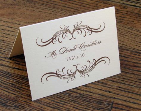 how to make table name cards wedding etiquette the ultimate guide gentleman s gazette