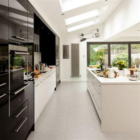 galley kitchen extension ideas interior design chatter colour inspiration