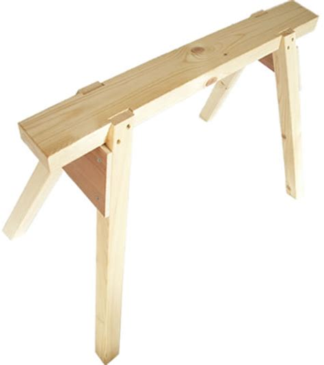 woodworking trestles carpenters wooden trestle saw