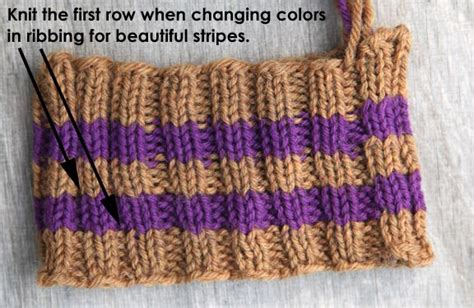 how to change colors in knitting even better illustration of seamless color change for