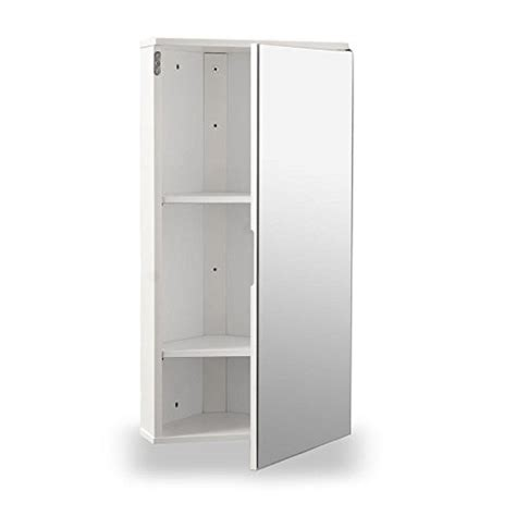 White Mirrored Bathroom Cabinet by White Gloss Wall Hung Corner Bathroom Cabinet With Single