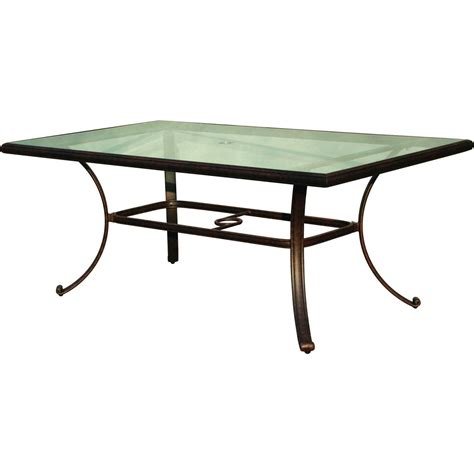 aluminum patio table darlee classic 72 x 42 inch cast aluminum patio dining